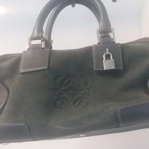 Loewe Amazona Bag (suede)
